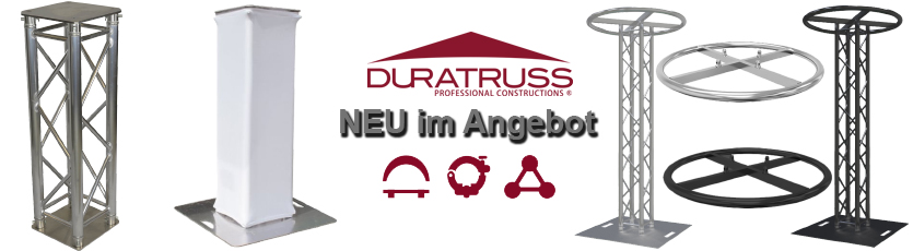 Aktionsangebote Duratruss neue Produkte