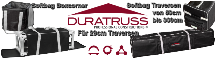 Duratruss Traversen Softbags 04/2018