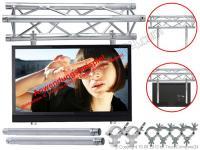 ALUTRUSS Universal Bildschirm-Halterung für 50mm Traversen