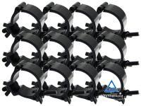 Duratruss Half Coupler 12er-Set DT Mini 360 für 50mm schwarz