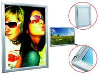 EUROPALMS Reklamewand A0 beleuchtet aluminium