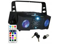 Showtec X-Terminator 3-in-1 Light Effect inkl. IR-Fernbedienung