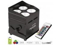 EUROLITE AKKU UP-4 QCL Spot QuickDMX inkl. IR-Fernbedienung