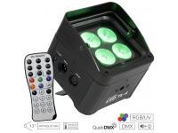 EUROLITE LED TL-4 QCL RGB+UV Trusslight inkl. IR-Fernbedienung