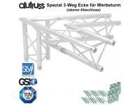 ALUTRUSS TRILOCK 6082AC-20-3 3-Weg Ecke 60° Spezial / Werbeturm