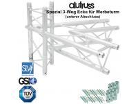 ALUTRUSS TRILOCK 6082AC-20-4 4-Weg Ecke 60° Spezial / Werbeturm