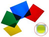 Farbfolienset 19x19cm, vier Farben
