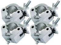 EUROLITE 4er-SET TPC-50 Klammer für 50mm Rohr