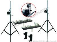 EUROLITE Stativ-Set 2xSTT-400/85 Kurbelstativ inkl. TV-Adapter