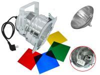 Scheinwerfer-Set PAR-56 Pro Short alu inkl. Leuchtmittel MFL