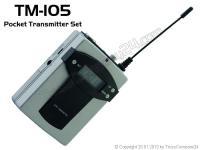 OMNITRONIC TM-105 Taschensender-Set W05