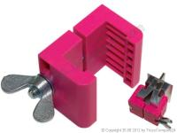 ERGO Verbindungsklammer Kunststoff M12 Schraube Preis ab 6 Stck