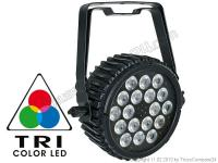 Showtec Compact Par 18 MKII black 18 x 3W Tricolor