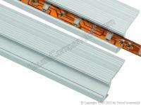 EUROLITE Aluminium Treppenprofil für LED Strip 2m länge
