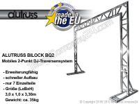 ALUTRUSS Bilock/BQ2 Mobiles-DJ 2-Punkt Traversensystem