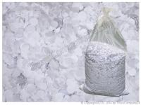 Konfetti weiß UV-aktiv Ø 7mm 10kg Sack/Beutel