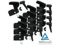 EUROLITE TH-2SC 12er-Set Quick-Lock Haken Universalklammer