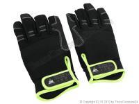 Roadie-Handschuhe Größe-XL drei Finger offen