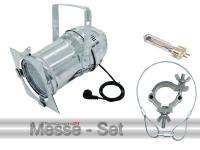 Scheinwerfer Messeset PAR-56 CDM150 Profi Spot alu inkl. Leuchtmittel