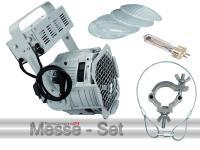 Scheinwerfer Messeset ML-56 CDM Multi Lens Spot alu inkl. Leuchtmittel