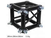 Duratruss DT 34/2 Box- Corner inkl. 8 x Halbkonus black