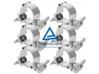 Duratruss Half Coupler 6er-Set DT Mini 360 Wing für 50mm Rohr