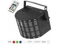 EUROLITE LED Mini D-20 Hybrid Strahleneffekt inkl. IR-Fernsteuerung