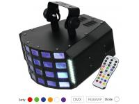 EUROLITE LED D-30 Hybrid Strahleneffekt inkl. IR-Fernsteuerung