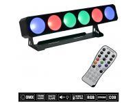 EUROLITE LED CBB-6 COB RGB Leiste inkl. IR-Fernbedienung
