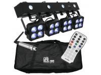 EUROLITE LED KLS-180 Kompakt-Lichtset + QuickDMX Funkempfänger