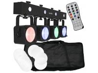 EUROLITE LED KLS-190 Kompakt-Lichtset inkl. Transporttasche