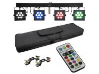 EUROLITE LED KLS3002 Next Kompakt-Lichtset+Fernbedienung+Tasche
