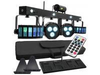 EUROLITE LED KLS LaserBar FX-Lichtset+Fußschalter+Fernbedienung