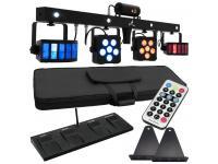 EUROLITE LED KLS Laser-Bar PRO FX-Lichtset+Fußschalter+Tasche