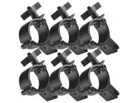 Duratruss DT Mini 360 6er-Set Quick Panel-Clamp 5-10mm black
