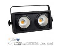 EUROLITE Audience Blinder 2x100W LED COB WW 3100k warmweiß